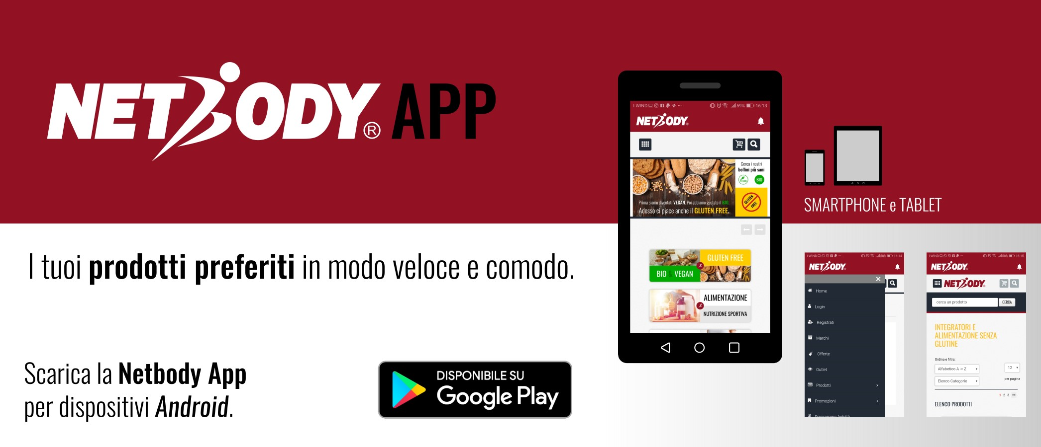 SCARICA APP NETBODY ANDROID